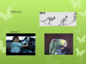 Beginning Verbs Lesson