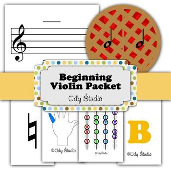 Beginning Violin Packet