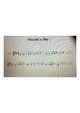"Beginning Violin Song entitled ""Hop and a Skip"""