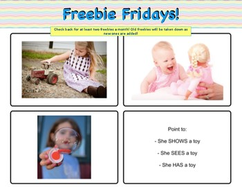 Beginning Vocabulary For Theory Of Mind & Perspective Taking - Freebie!