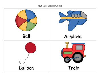 Beginning Vocabulary and Following Directions Packet- With Freebie in Preview