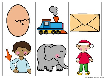 Beginning Vowel Sound Sorts - Initial Short Vowels