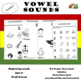 Beginning Vowel Sounds Colouring Sheets