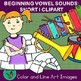 Beginning Vowel Sounds Short I: Hand-drawn Colored Pencil Clipart