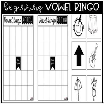 Beginning Vowel Bingo and Word Sort
