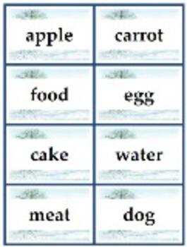 Bedrock Beginning Word Categorization