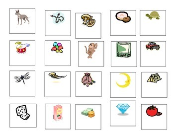 Beginning Word Sounds: Picture Match