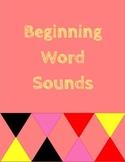 Beginning Word Sounds