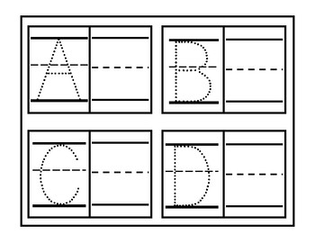 Beginning Writers Trace and Practice Set