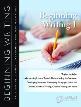 Beginning Writing Book 1
