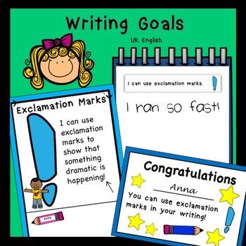 Writing Goals for Beginners AUS UK
