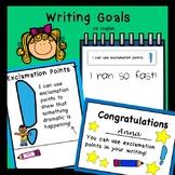 Writing Goals US