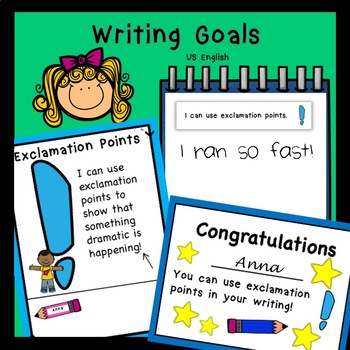 Writing Goals for Beginners US