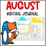 My First Writing Journal August