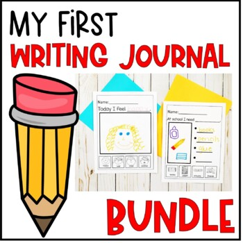 My First Writing Journal Growing Bundle