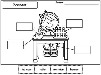 Beginning Writing: Labeling