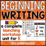 Beginning Writing - Launching Writer's Workshop