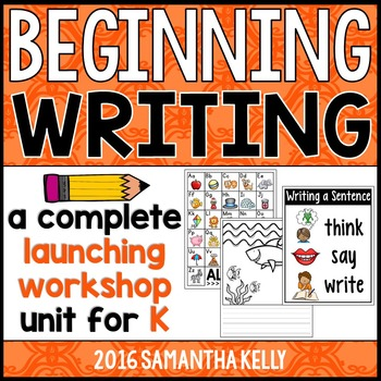 Beginning Writing - Launching Writer's Workshop