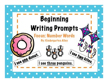 Beginning Writing Prompts: Number Words (1-10)