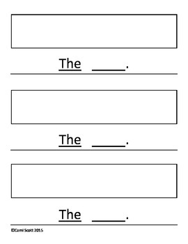 Beginning Writing Sentences