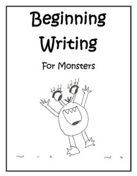 Beginning Writing for Monsters