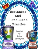 Beginning and End Blend Practice