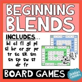 Beginning and End Blends Board Games - Reading and Word Work Activities!