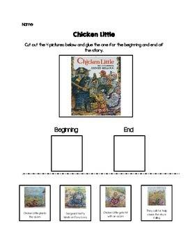 Beginning and End Of Picture Book Stories
