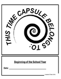 Beginning and End of Year Time Capsule Packet