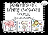 Beginning and Ending Consonant Sounds - Digital Resource -