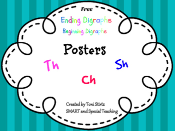 Beginning and Ending Digraph Posters Free