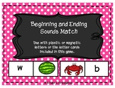 Beginning and Ending Sound Match