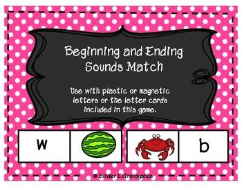 Beginning and Ending Sound Match