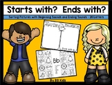 Beginning and Ending Sound Sorts/ Letters/Sounds