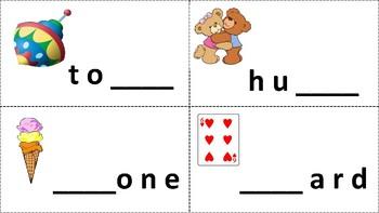 Beginning and Ending Sound Task Cards (36 Cards)