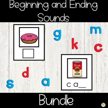 Beginning and Ending Sounds Activity Cards