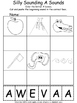 Beginning and Ending Sounds A to Z Alphabet Packet