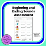 Beginning and Ending Sounds Assessment