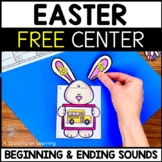 Beginning and Ending Sounds FREEBIE
