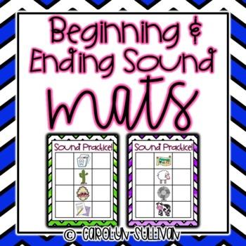 Beginning and Ending Sounds- Kindergarten and PreK Practice