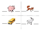Beginning and Ending Sounds Literacy Center Activity Common Core