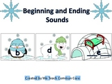 Beginning and Ending Sounds Polar Bear Winter Themed Daily