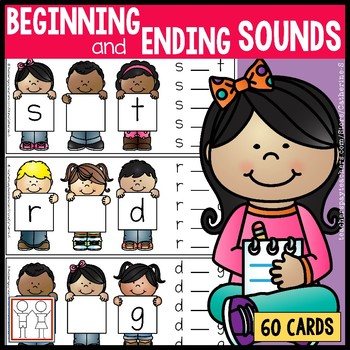 Beginning and Ending Sounds Task Cards