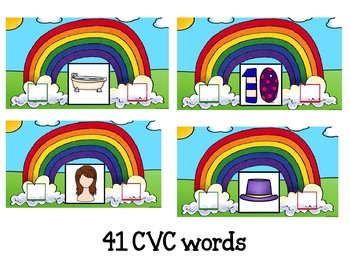 Google Classroom Beginning and Ending Sounds in CVC Words
