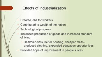 Beginning/Spread of Industrialization PowerPoint and Guided/Completed Notes