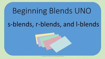 Beginning blends UNO