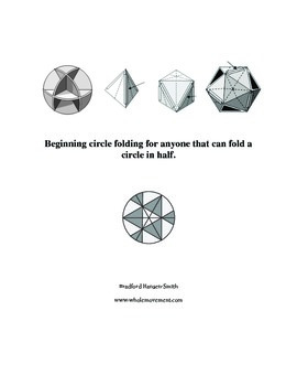 Beginning circle folding for anyone that can fold a circle in half