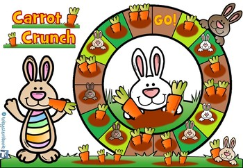 Carrot Crunch Phonics Letter Sound Game