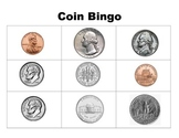 Beginning money games - Coin Bingo