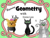 Beginning of Geometry Defines point, line, linsegment, ray and angle